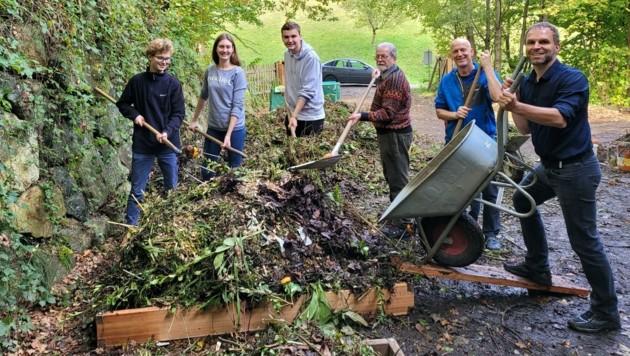 Praxistest im Yspertal: Bio-Sackerln wurden kompostiert. (Bild: HLUW Yspertal)