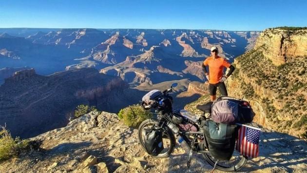 Der berühmte Grand Canyon in Arizona, fast 450 Kilometer lang. (Bild: Edwin Schmidt)