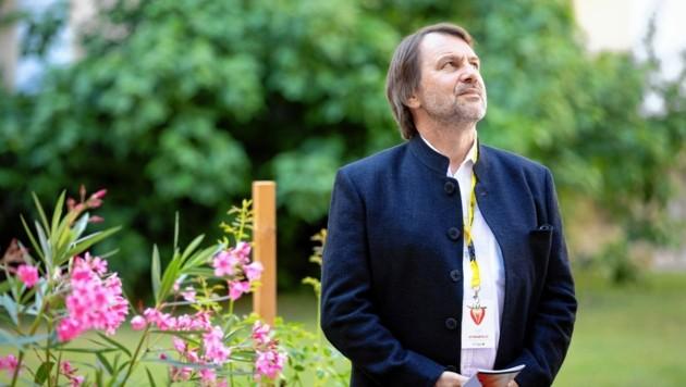 styriarte-Intendant Mathis Huber blickt hoffnungsvoll in die Zukunft (Bild: Nikola Milatovic)