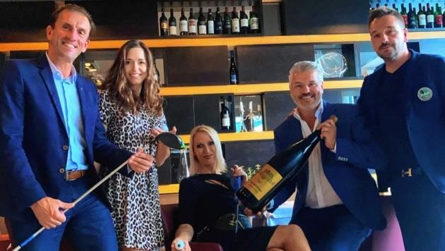 Viele Promis nahmen am José-Carreras-Cup in Finkenstein teil. Im Voco-Hotel wurde fein diniert. (Bild: Tragner Christian)