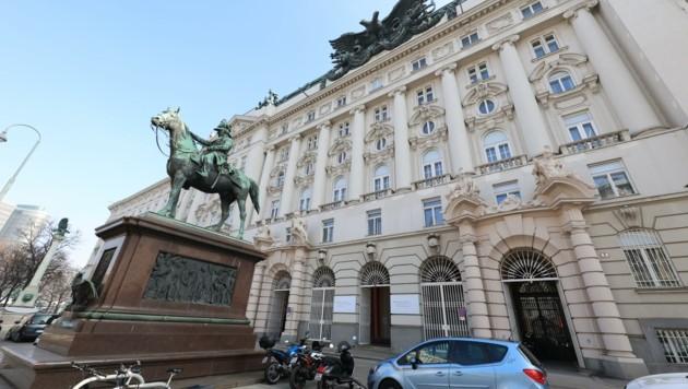 Am Stubenring 1: Hier residieren sowohl das Sozialministerium als auch das Wirtschaftsministerium. (Bild: Groh Klemens)