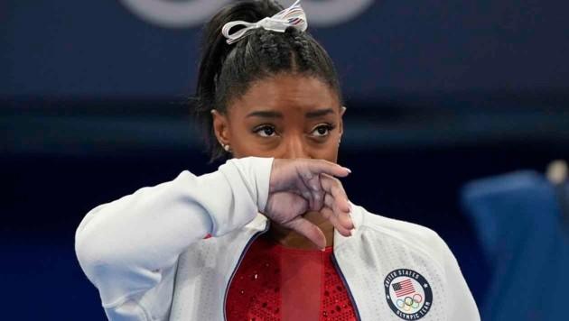US-Turnstar Simone Biles (Bild: Associated Press)