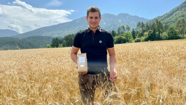 Andreas Korenjak forciert den Anbau von Ein- und Emmerkorn auf seinen Feldern (Bild: ZvG/ Magitzhof)