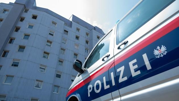 In diesem Wohnblock in Asten war am 20. Juli der Beziehungsstreit eskaliert. (Bild: Kerschbaummayr Werner)
