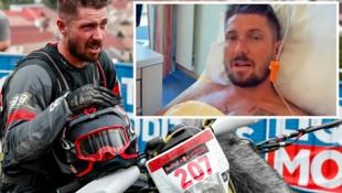 """Marcel Hirscher stürzte bei den """"Red Bull Romaniacs"""" und zog sich einen Beinbruch zu. (Bild: Red Bull Contentpool, Instagram.com/marcel__hirscher)"""
