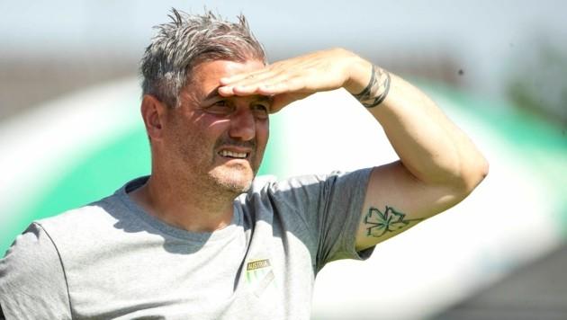 Austria-Coach Markus Mader hofft auf eine Begegung auf Augenhöhe. (Bild: Maurice Shourot)