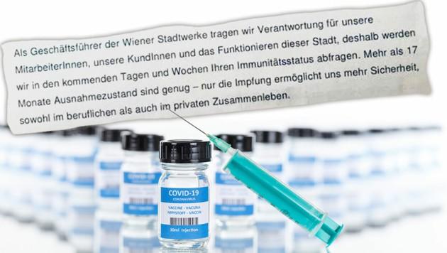"""""""17 Monate Ausnahmezustand sind genug"""", heißt es erklärend in dem Brief an die Mitarbeiter (Bild: stock.adobe.com/Markus Mainka, Krone KREATIV)"""