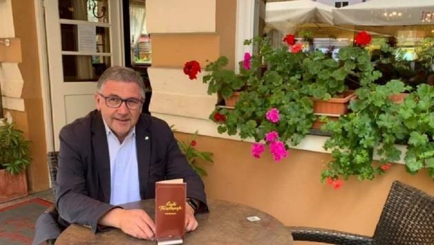 Tourismusdirektor Georg Steiner (Bild: zVg/Facebook)