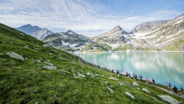 Schöne Aussichten: Das Bergpanorama beim Großglockner Ultra Trail. (Bild: Harald Wisthaler)