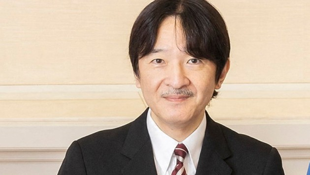 Kronprinz Akishino (Bild: Imperial Household Agency of Japan)