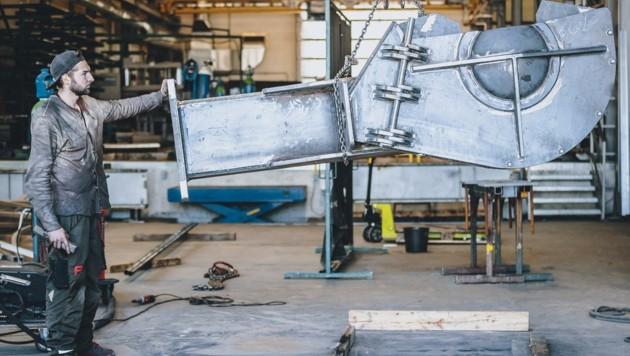 Der Bau boomte hingegen: Salzburgs Metallbauer hatten 2020 volle Auftragsbücher. (Bild: EXPA/ JFK)