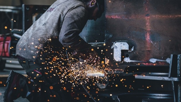 Die Metallerzeugung und -bearbeitung ging vor allem in Oberösterreich stark zurück. (Bild: EXPA/ JFK)