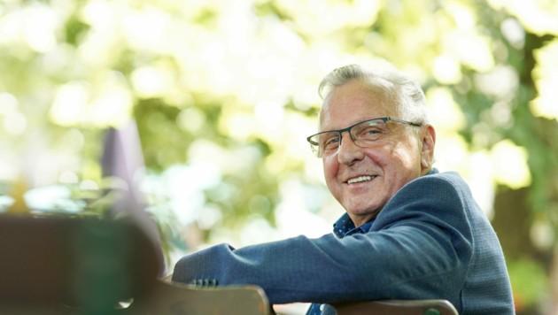 """Im Sport geschätzt! Gerhard Hauer denkt ungern an die Abwahl als Union-Landespräsident: """"Sogenannte Freunde haben mich schwer enttäuscht!"""" (Bild: Markus Wenzel)"""