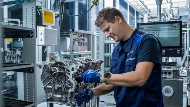 Der August steht auch im BMW-Werk in Steyr im Zeichen des Urlaubs. (Bild: BMW Group Werk Steyr)