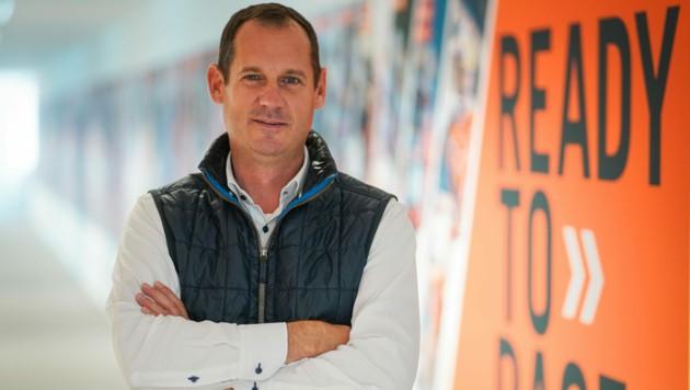 Für Mitarbeiter am Ende der Produktionskette dauert der Betriebsurlaub bei KTM länger, verrät Pierer-Mobility-Vorstand Viktor Sigl (Bild). (Bild: Markus Wenzel)