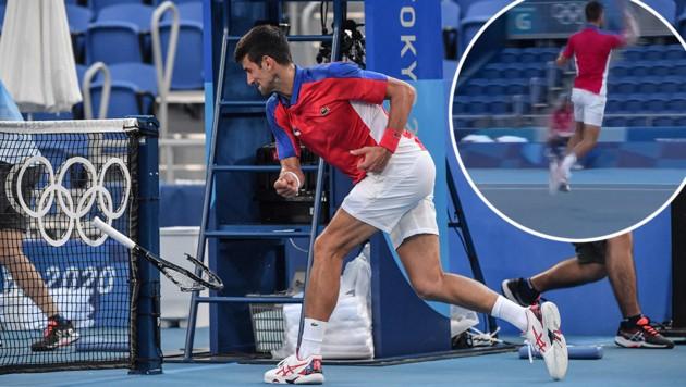 Novak Djokovic (Bild: APA/AFP/Tiziana FABI, twitter.com)