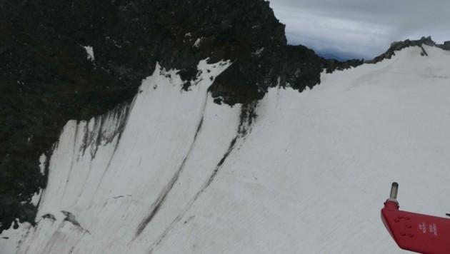 Im Bereich der Hohenwartscharte wurde der vermisste Slowene am Samstag tot geborgen. (Bild: zVg/PI Heiligenblut am Großglockner)