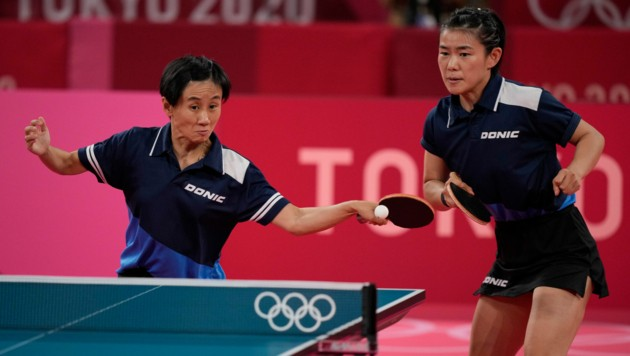 Liu Jia und Liu Yuan (Bild: AP)