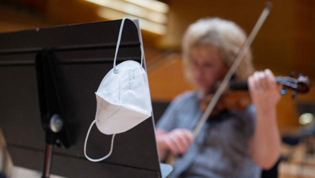 Für viele Menschen wurde Musik im Zuge der Corona-Krise noch bedeutender. (Bild: AFP/Josep LAGO)