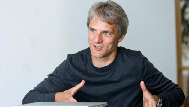Martin Reis leitet im Energieinstitut Vorarlberg den Bereich Mobilität und ist zudem stellvertretender Geschäftsführer. (Bild: Mathis Fotografie)