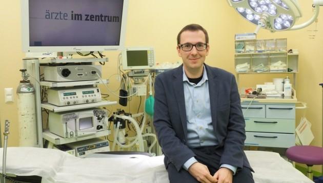 """""""Ärzte im Zentrum""""-Leiter Angermayr nimmt Krebsangst (Bild: Gabriele Moser )"""