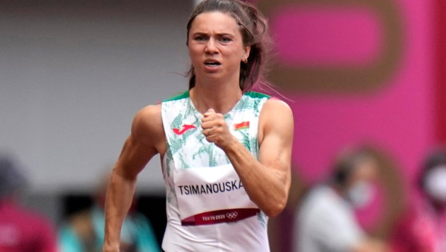 Kristina Timanowskaja (Bild: AP)