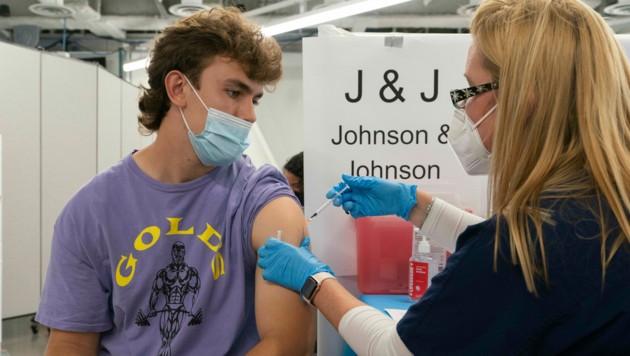 Corona-Impfung in den USA (Archivbild) (Bild: Associated Press)