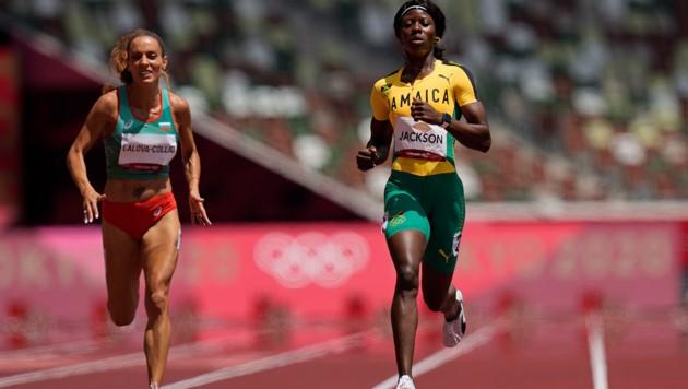 Shericka Jackson (Bild: AP)