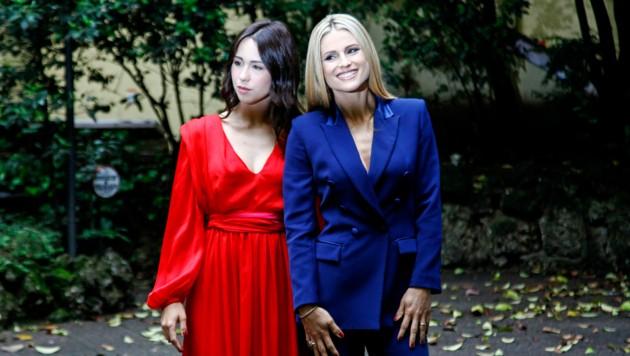 Aurora Ramazzotti, Michelle Hunziker (Bild: laPresse / EXPA / picturedesk.com)