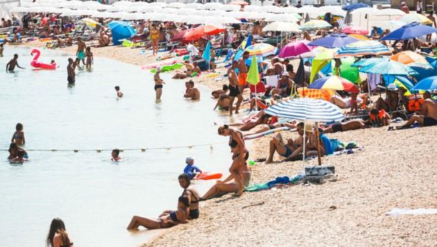 Kroatien ist heuer als Urlaubsdestination heiß begehrt, was leider aber auch Schattenseiten hat. (Bild: PIXSELL / EXPA / picturedesk.com)