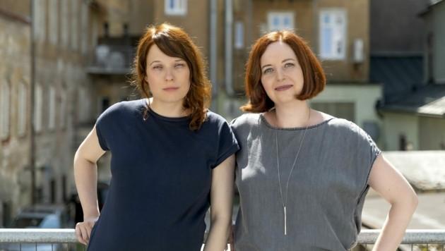 Katharina Riedler und Sabine Gebetsroither leiten ab Oktober das Filmfestival Crossing Europe (Bild: Violetta WAKOLBINGER )
