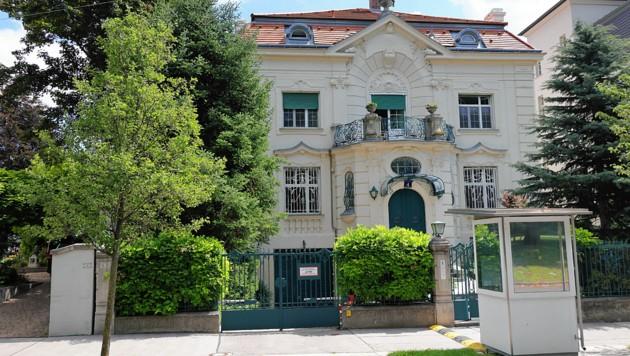 Das Einbruchsziel: Diese Nobel-Villa des US-Geschäftsträgers in Wien (Bild: Peter Tomschi)