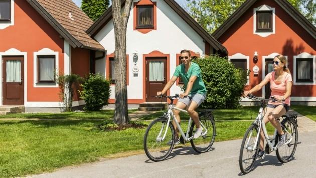 Gäste der Vila Vita lassen sich den Urlaub trotz Rückreisebestimmungen nicht verderben. (Bild: Vila Vita Pannonia)
