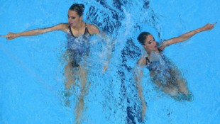 Anna-Maria Alexandri und Eirini Alexandri (Bild: AFP)