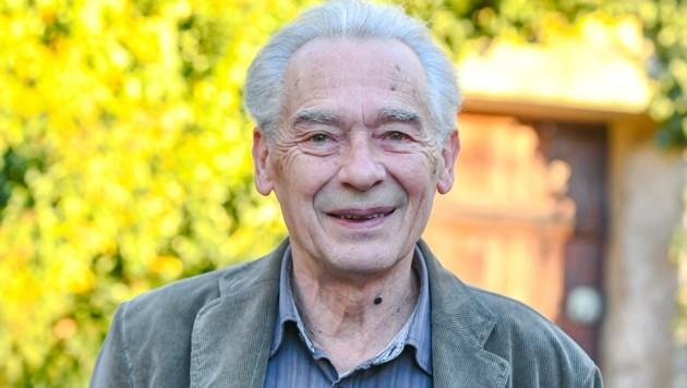 Der Tiroler Dramatiker Felix Mitterer freut sich über die Auszeichnung. (Bild: zeitungsfoto.at)