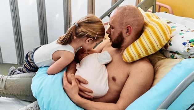 Mittlerweile ist der 37-Jährige stolzer Vater zweier Töchter. (Bild: Dominik Supper)