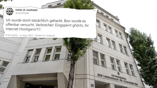 (Bild: APA/HERBERT NEUBAUER, twitter.com/JJosefstadt,Krone Kreativ)