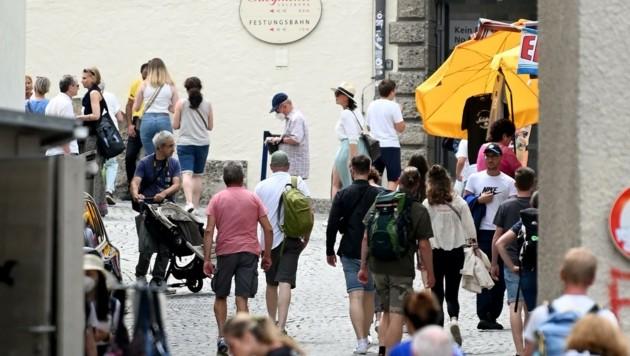 Die Touristen sind zurück, die Probleme bleiben (Bild: BARBARA GINDL)