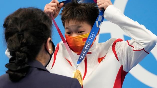 Quan Hongchan (Bild: AP)