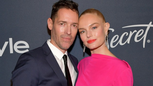 Kate Bosworth mit Michael Polish (Bild: 2020 Getty Images)