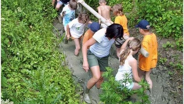 Spaß kommt im Moor sicher nicht zu kurz. Begleiter für Gäste werden gesucht! (Bild: Lust auf Moor)