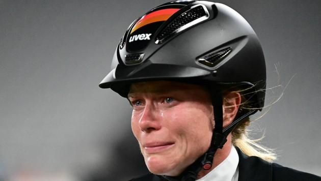 Die stark in der Kritik stehende Annika Schleu (Bild: AFP or licensors)