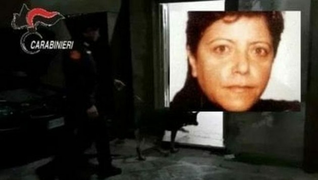 Maria Licciardi (Bild: Carabinieri/ANSA/Twitter.com/sruotolo1)