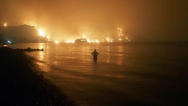Limni in Griechenland (Bild: AP/Thodoris Nikolaou)
