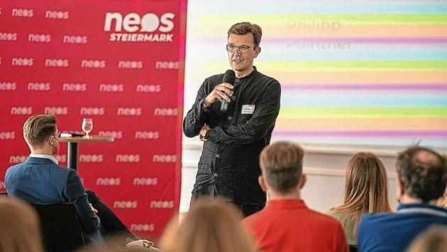 Philipp Pointner (Bild: NEOS)