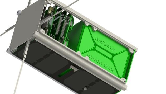 """2023 soll die """"Green Box"""" erstmals ins Weltall. Eine Trägerrakete wurde dafür schon gesichert. (Bild: R-Space)"""