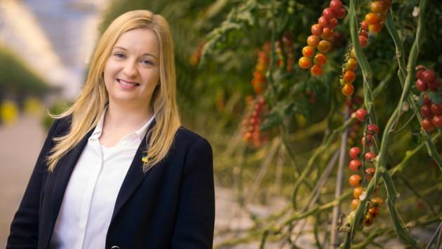 frutura-Geschäftsführerin Katrin Hohensinner. (Bild: Philip Platzer)