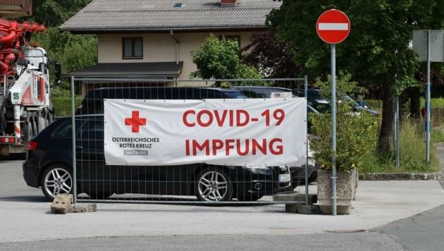 Im Bezirk Zell am See haben sich schon Viele impfen lassen (Bild: Roland Hölzl)