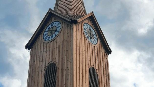 Das Dach und der Turmtrakt wurden umfassend saniert. (Bild: Franz Richau)