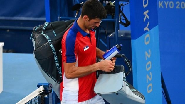 Novak Djokovic (Bild: APA/AFP/Vincenzo PINTO)